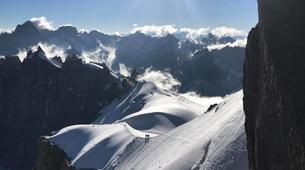 Mountaineering-Chamonix Mont-Blanc-Mountaineering day trip on the Cosmiques Ridge, Chamonix-3