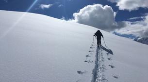 Ski touring-Chamonix Mont-Blanc-Ski touring day trip in the Col d'Entrèves, Chamonix-5