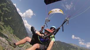 Paragliding-Verbier-Tandem paragliding over Verbier-2