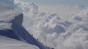 Mountaineering-Chamonix Mont-Blanc-Mountaineering day trip on the Cosmiques Ridge, Chamonix-1