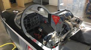 Aerobatics-La Roche-sur-Yon-Jet fighter flight in La Roche-sur-Yon, Vendee-2