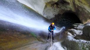 Canyoning-Annecy-Canyon de la Cascade d'Angon à Annecy-3