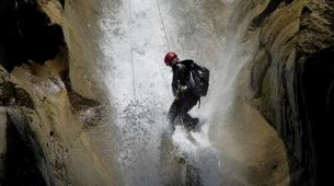 Canyoning-Megève, Evasion Mont Blanc-Canyon de La Belle au Bois à Megève-4