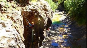 Canyoning-Escuain-Escuain canyon near Escuian, Huesca-3