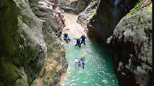 Canyoning-Barbaruens-Barbaruens canyon in Barbaruens, Huesca-5