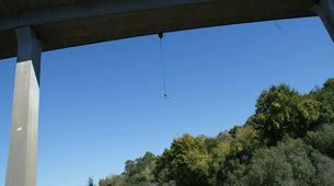 Saut à l'élastique-Melgaço-Double rope swinging from the Arbo Bridge in Melgaço-5