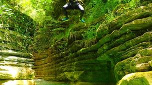 Canyoning-Bergua-Forcos canyon in near Bergua, Huesca-1