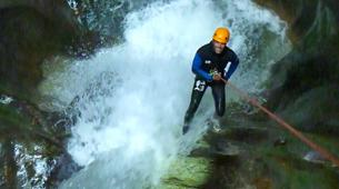 Canyoning-Annecy-Canyoning at Devil's Bridge near Annecy-2