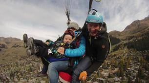 Paragliding-Verbier-Tandem paragliding over Verbier-5
