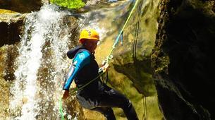 Canyoning-Buerba-Viandico canyon in Nerin near Buerba, Huesca-4