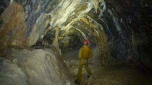 Caving-Les Carroz, Le Grand Massif-Caving excursion in the cave of Balme, Haute-Savoie-6