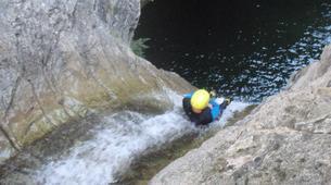 Canyoning-Nice-Riou de La Bollène canyon near Nice-3
