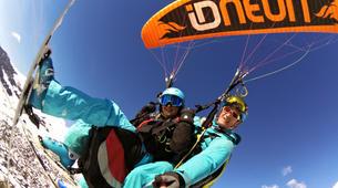 Paragliding-Verbier-Tandem paragliding over Verbier-4