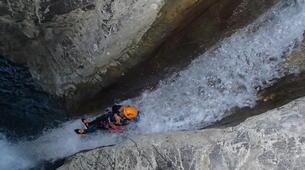 Canyoning-Nice-Canyon de Cramassouri près de Nice-5