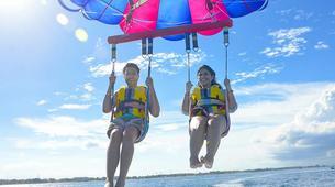 Parasailing-Kuta Selatan-Parasailing on Pantai Samuh beach in Nusa Dua, Bali-2