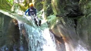 Canyoning-Annecy-Canyoning at Montmin Gorge near Annecy-5