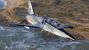 Aerobatics-La Roche-sur-Yon-Jet fighter flight in La Roche-sur-Yon, Vendee-1