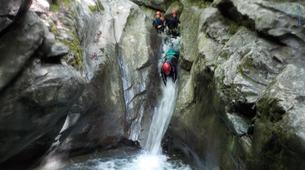 Canyoning-Megève, Evasion Mont Blanc-Canyon de La Belle au Bois à Megève-6