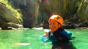 Canyoning-Escuain-Lower Mirabal canyon in Escuain near Huesca-1