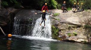 Canyoning-Arouca-Rio Teixeira canyon near Arouca-1