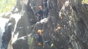 Canyoning-Arouca-Mizarela Waterfall Canyon near Arouca-3