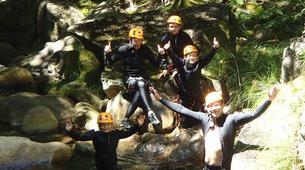 Canyoning-Arouca-Ribeira de Vessadas canyon near Arouca-2
