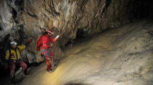 Caving-Les Carroz, Le Grand Massif-Caving excursion in the cave of Balme, Haute-Savoie-4