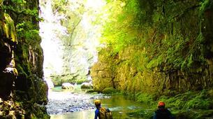 Canyoning-Buerba-Viandico canyon in Nerin near Buerba, Huesca-2