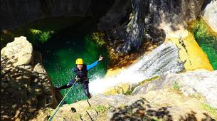 Canyoning-Escuain-Escuain canyon near Escuian, Huesca-2