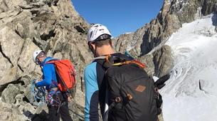 Mountaineering-Chamonix Mont-Blanc-Mountaineering day trip on the Cosmiques Ridge, Chamonix-8