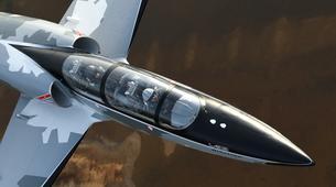 Aerobatics-La Roche-sur-Yon-Jet fighter flight in La Roche-sur-Yon, Vendee-3