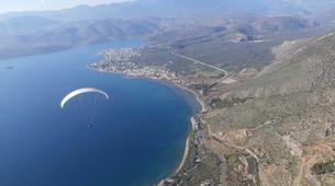 Paragliding-Delphi-Tandem paragliding flight in Delphi, Greece-1