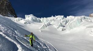 Ski Hors-piste-Chamonix Mont-Blanc-Journée Ski Hors-Piste sur le Massif du Mont-Blanc-4