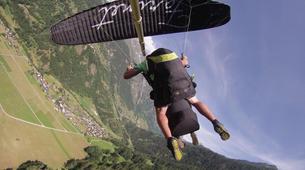 Paragliding-Verbier-Tandem paragliding over Verbier-3