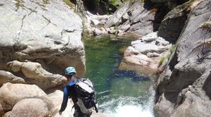 Canyoning-Villalba de la Sierra-Portilla canyon in Villalba de la Sierra near Cuenca-1