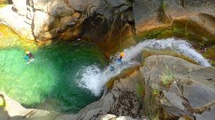 Canyoning-Barbaruens-Barbaruens canyon in Barbaruens, Huesca-1
