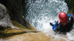 Canyoning-Cañamares-Hoz Somera canyon in Cañamares near Cuenca-2