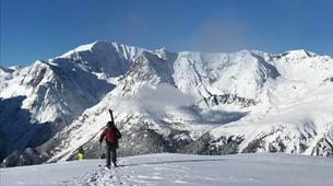 Ski touring-Chamonix Mont-Blanc-Ski touring day trip in the Col d'Entrèves, Chamonix-2