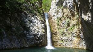Canyoning-Nice-Canyon du Riou de La Bollène près de Nice-4