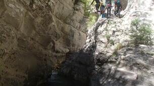 Canyoning-Nice-Canyon de Cramassouri près de Nice-2
