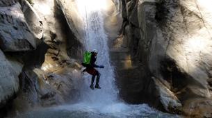 Canyoning-Megève, Evasion Mont Blanc-Canyon de La Belle au Bois à Megève-1