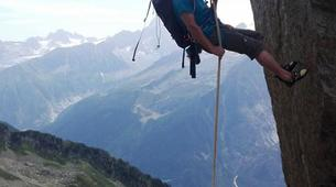 Rock climbing-Chamonix Mont-Blanc-Discover multi-pitch climbing in Monte Coudrey, Aosta Valley-4