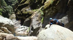 Canyoning-Villalba de la Sierra-Portilla canyon in Villalba de la Sierra near Cuenca-3