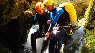 Canyoning-Buerba-Viandico canyon in Nerin near Buerba, Huesca-5