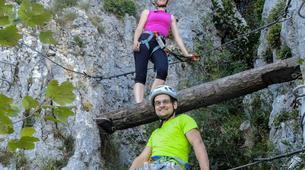 Via Ferrata-Lake Bourget, Aix les Bains-Via Ferrata Roc du Cornillon near Lac du Bourget-4