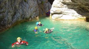 Canyoning-Cañamares-Hoz Somera canyon in Cañamares near Cuenca-3