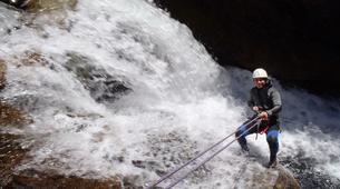 Canyoning-Villalba de la Sierra-Portilla canyon in Villalba de la Sierra near Cuenca-4