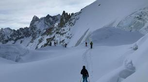 Ski touring-Chamonix Mont-Blanc-Ski touring day trip in the Col d'Entrèves, Chamonix-4