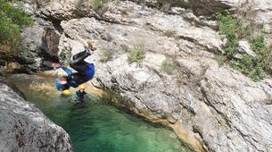 Canyoning-Monaco-Audin stream canyon near Monaco-2