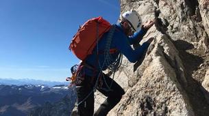 Mountaineering-Chamonix Mont-Blanc-Mountaineering day trip on the Cosmiques Ridge, Chamonix-6